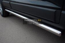 Chevrolet Captiva 2012 Пороги труба d63 (вариант 3) CHCT-0008283