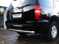Chevrolet Tahoe Защита заднего бампера d76 TCZ-000630