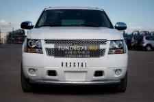 Chevrolet Tahoe 2012 Защита переднего бампера d76 CTHZ-000926