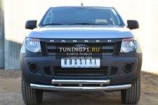 Ford Ranger 2012 Защита переднего бампера d76/63 (дуга)  FRZ-001296