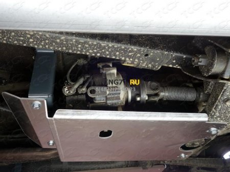 UAZ Patriot 2015-Защита раздаточной коробки (алюминий) 4 мм