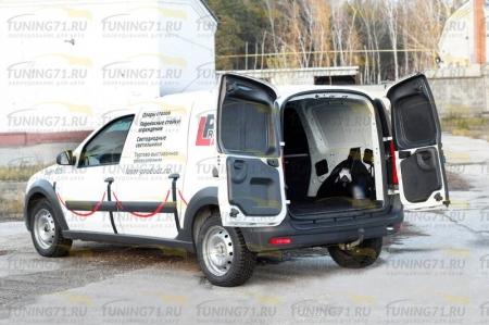 Lada-Largus (фургон) 2012—н.в.-Обшивка внутренних колесных арок грузового отсека (со скотчем 3М)-шагрень