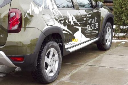 Renault Duster 2015-н.в. Расширители колесных арок (4 шт.)