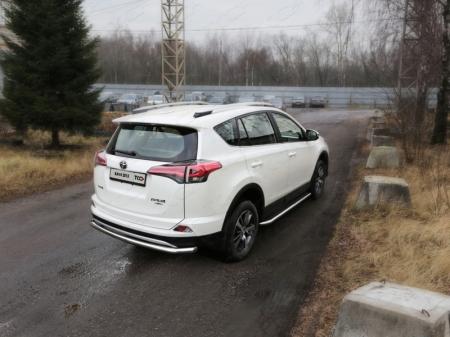 Toyota RAV4 2015 Защита задняя (центральная) 60,3 мм