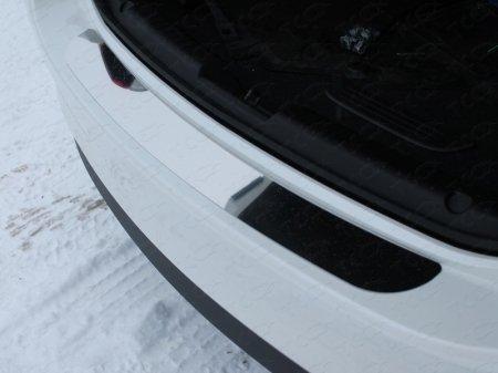 Mazda 6 2015 - Накладка на задний бампер (лист зеркальный)