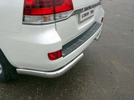 Toyota Land Cruiser 200 2015 Накладка на задний бампер (лист)