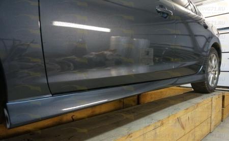 2012- Mazda 6 Пороги 2шт. (ABS-пластик)