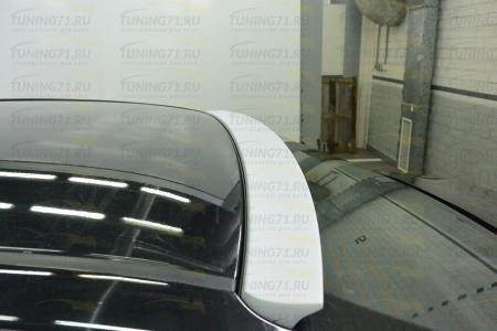 2013- Toyota Corolla E160 Накладка на заднее стекло с нанесенным грунтом 1 шт. (Козырек)