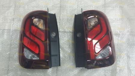 Original Renault - Штатные задние фонари для Renault Duster 2015,2016-