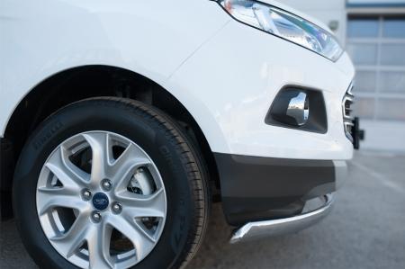 Ford Ecosport 2014- Защита переднего бампера d75х42 (дуга) FEZ-002055