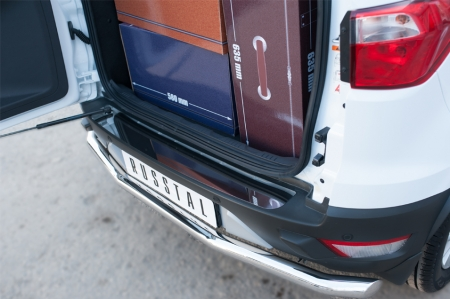 Ford Ecosport 2014- Защита заднего бампера d63 (секции) FEZ-002062