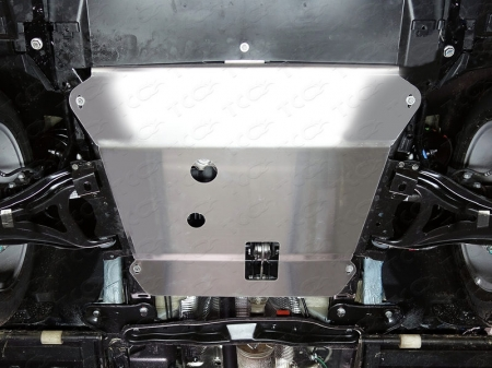 Renault Kaptur 2016-Защита картера (алюминий) 4 мм