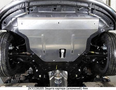 Hyundai Creta 2016-Защита картера (алюминий) 4мм