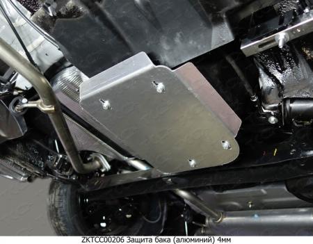 Hyundai Creta 2016-Защита бака (алюминий 4 мм)