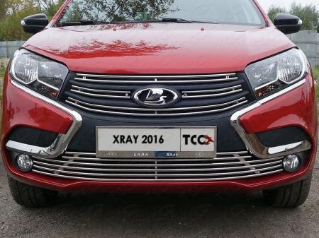 Lada XRAY(x-ray) 2016-Решетка радиатора верхняя 12 мм