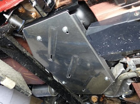Lada XRAY 2016-Защита бака (алюминий) 4мм