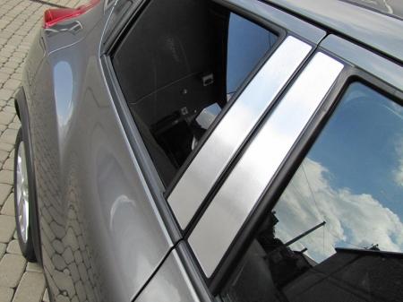 Накладки на стойки дверей Alufrost  Honda Civic IX 4d (2012- )