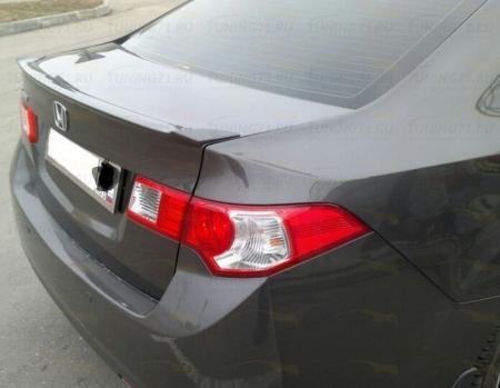 Honda, Accord VIII Спойлер крышки багажника, (Лезвие)*