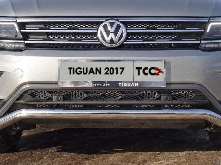 Volkswagen Tiguan 2017- Решетка радиатора верхняя (лист)
