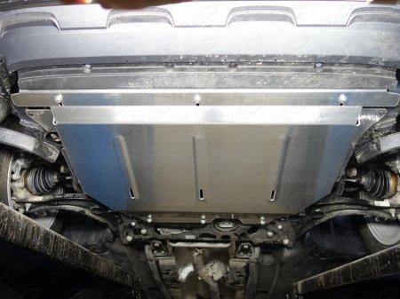 Volkswagen Tiguan 2017-Защита картера и КПП (алюминий) 4 мм