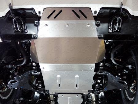 Toyota Land Cruiser 200 2007/2012/2015-, Executive 2016-Защита радиатора (алюминий) 4 мм