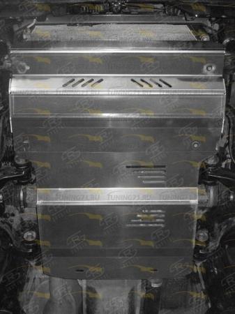 TOYOTA LC PRADO 150 2017- Защита радиатора, защита картера (комплект)