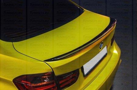 Спойлер BMW 3-series (F30) 2012- н.в. INMAX. Аналог М-Perfomance (OEM 51192349678)