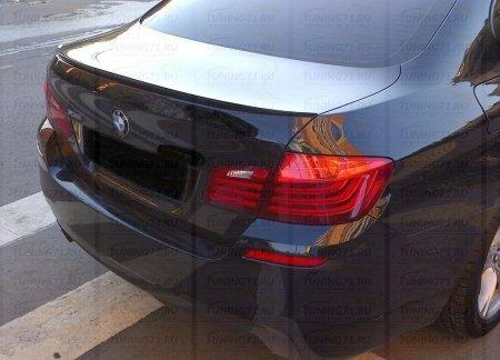 Спойлер BMW 5-series (F10) INMAX. Аналог спойлера M5 (OEM 51628049268)
