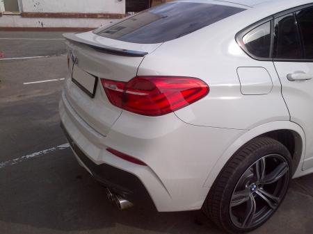 Спойлер BMW X4 (F26) Аналог М-Perfomance 2014-