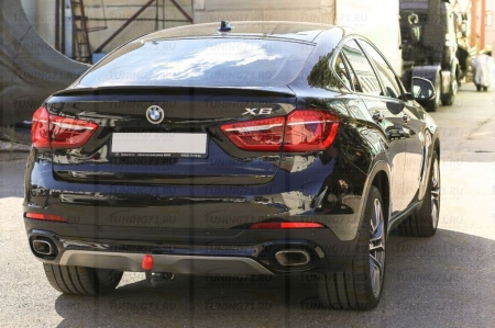 Спойлер BMW X6 (F16) Аналог Х6M 2015-