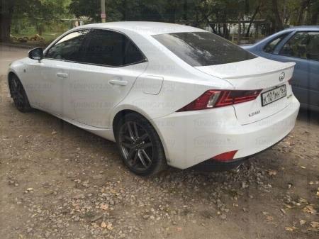 Спойлер крышки багажника Lexus IS (3-d generation) 2013 -