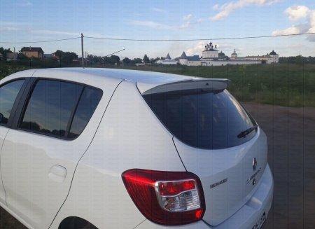 Спойлер крышки багажника Рено Сандеро (Sandero), Степвей (Stepway) 2014-