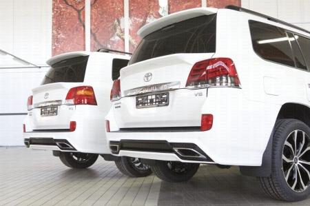 Спойлер нижний HEMMES Toyota Land Cruiser 200 2007-2015-