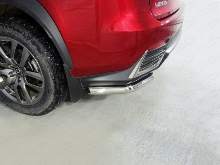Lexus NX 200 2017-Защита задняя (уголки) 60,3 мм