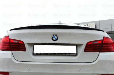 BMW 5 F10 - Лип спойлер