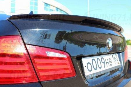 BMW 5 F10 - Лип спойлер c вырезом