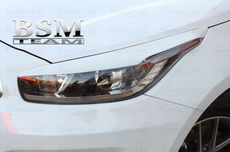 Kia Ceed 2 2012-Реснички передние HB,SW,pro
