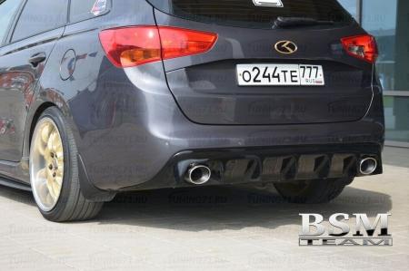 Kia Ceed 2 2012-Диффузор для Kia Ceed 2 SW