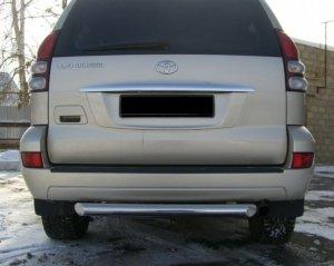 Toyota LC Prado 120 защита заднего бампера  d76 TPZ-000155