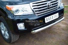 Toyota Land Cruiser 200. 2012- Защита переднего бампера D76 TLCZ-000510