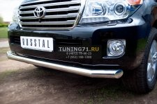 Toyota Land Cruiser 200. 2012- Защита переднего бампера 76L TLCZ-000511