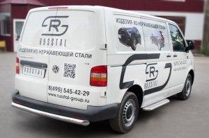VolksWagen Transporter kasten  Защита заднего бампера d76 VTRZ-000607