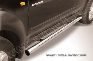 GREAT WALL HOVER (2008)-Пороги d76 труба