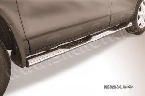 HONDA CR-V (2009)-Пороги d76 с проступями