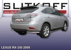 LEXUS RX-350 (2009)-Уголки d76