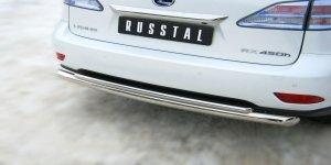 Lexus RX270/350/450 защита заднего бампера d76/42 LRXZ-000408