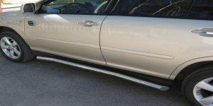 Lexus RX330 пороги труба  d76 LRT-000395