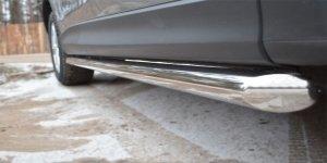 Mazda CX-5 2011- Защита порогов d63 (вариант 1) M5T-0011361