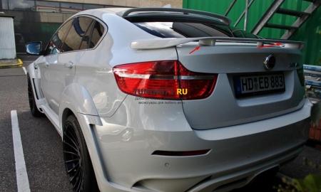 2008 - 2014  BMW X6 E71 Спойлер Hamman нижний ABS пластик Спойлер 1 шт., крепежные элементы 2 шт.