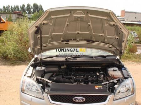 2008 - 2011  Ford Focus 2 Амортизаторы капота Амортизационные стойки 2 шт., крепеж